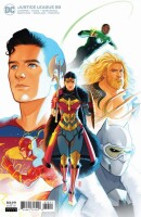 Justice League 58 Cover B Jen Bartel Variant (Endless...