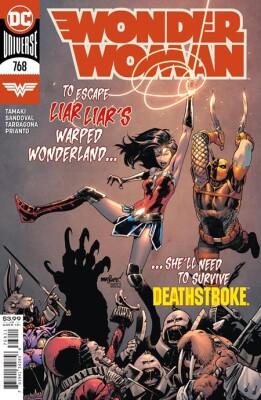 Wonder Woman 768 Cover A David Marquez (Vol. 5)