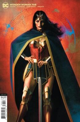Wonder Woman 768 Cover B Joshua Middleton Card Stock Variant (Vol. 5)