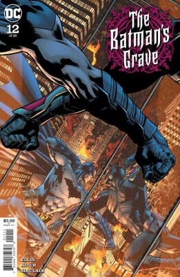 Batmans Grave 12 (Of 12) Cover A Bryan Hitch