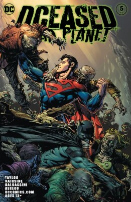 Dceased Dead Planet 5 (Of 7) Cover A David Finch