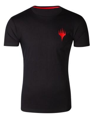 Magic the Gathering T-Shirt - Wizards Logo (schwarz) XL