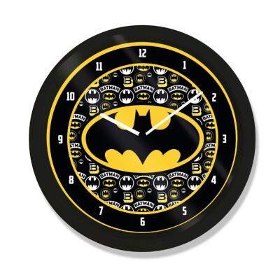 Batman Wanduhr Logo