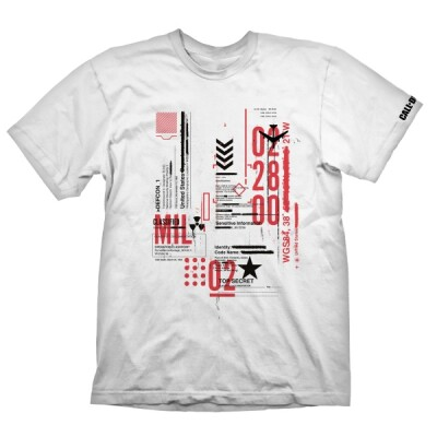 Call of Duty Cold War T-Shirt Defcon-1 (weiß) S