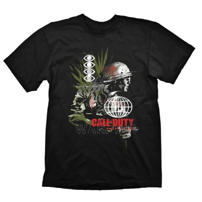 Call of Duty Cold War T-Shirt Army Comp (schwarz) S