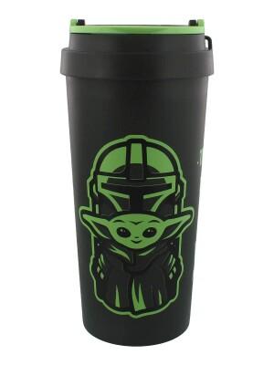 Star Wars the Mandalorian Kunststoffbecher (Travel Mug) The Cutest (400 ml)