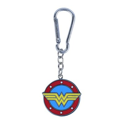 DC Comics Polyresin Schlüsselanhänger: Wonder Woman Logo