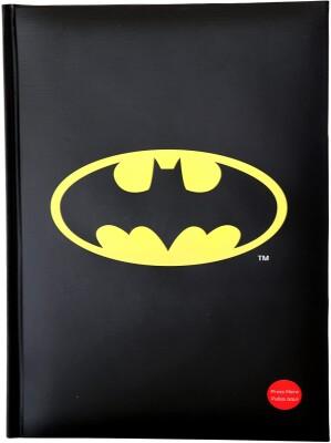 DC Comics Notizbuch: Batman Logo mit Licht  (DIN A5)