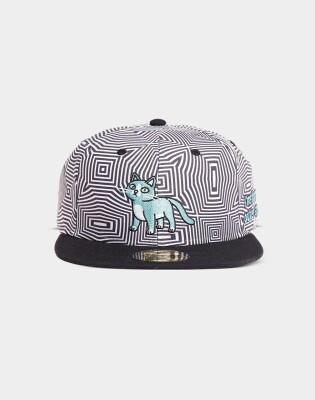 Rick and Morty Baseball Snapback Cat Outer Space