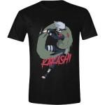 Naruto T-Shirt - Kakashi (schwarz)
