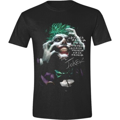 Batman T-Shirt - Joker Hahaha (schwarz) XL