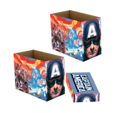 Marvel Comic Box (kurz) Captain America Patriot