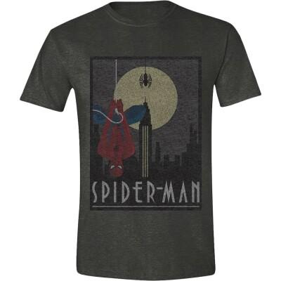Spider-Man T-Shirt - Dark Heather (grau) XXL