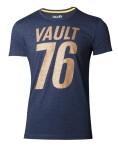 Fallout 76 T-Shirt - Golden 76 (grau)