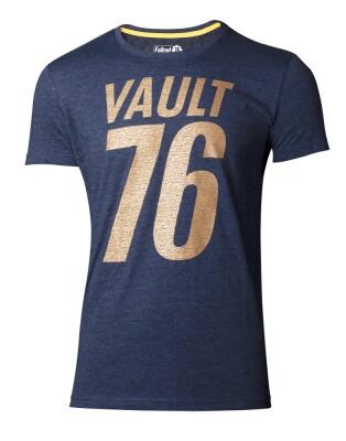 Fallout 76 T-Shirt - Golden 76 (grau) M