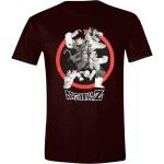 Dragon Ball Z T-Shirt - Goku Attack  (schwarz)
