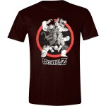 Dragon Ball Z T-Shirt - Goku Attack  (schwarz) L