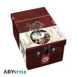 Harry Potter Geschenkbox: Harry Suitcase (Keramiktasse, Pin, Schlüsselanhänger)