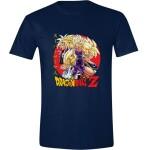 Dragon Ball Z T-Shirt - Super Saiyans (navy) S