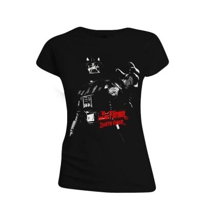Star Wars Damen T-Shirt (Girlie): No Im Your Father (schwarz) L