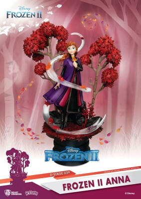 Disney D-Stage PVC Frozen Diorama Anna (15 cm)