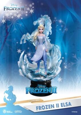 Disney D-Stage PVC Frozen Diorama Elsa (15 cm)
