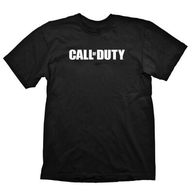 Call of Duty T-Shirt Logo (schwarz) M