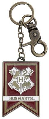 Harry Potter Schlüsselanhänger: Hogwarts Banner Keychain