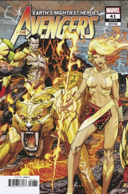 Avengers 41 (Vol. 8) Weaver Connecting Variant