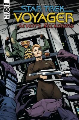 Star Trek Voyager Sevens Reckoning 3 (Of 4) Cover A  Hernandez