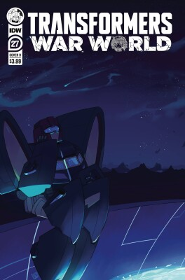 Transformers 27 Cover B  Red Powell