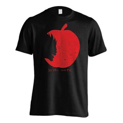 Death Note T-Shirt - Ryuks Apple (schwarz) M