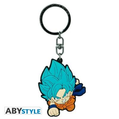 Dragonball Super Schlüsselanhänger: Goku Saiyan Blue