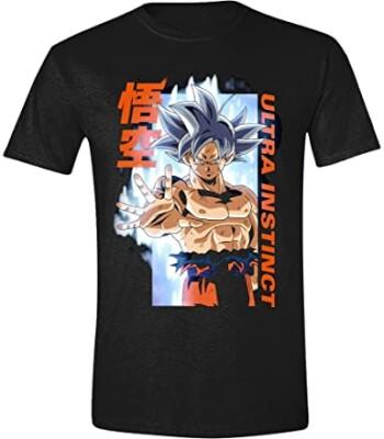 Dragon Ball Super T-Shirt - Ultra Instinct (schwarz) M