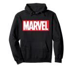 Marvel Comics Kapuzenjacke - Marvel Logo (schwarz) XL