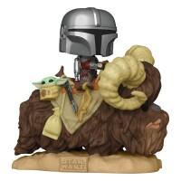 Star Wars Mandalorian POP! Rides PVC-Sammelfigur - The...