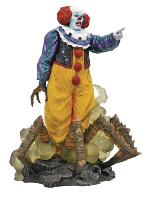 Stephen King ES 1990 Gallery PVC-Statue - Pennywise (25 cm)