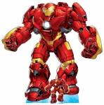 Avengers Pappaufsteller (Stand Up) - Hulk Buster Armour Lifesize (192 cm)