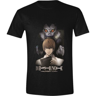 Death Note T-Shirt - Ryuk & Light (schwarz) L