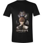 Death Note T-Shirt - Ryuk & Light (schwarz) XL