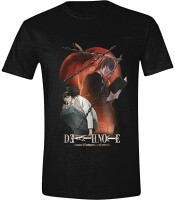 Death Note T-Shirt - Chained Notes (schwarz)