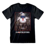 Ghostbusters T-Shirt - Stay Puft Square (schwarz) L