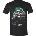 Batman T-Shirt - Joker Hahaha (schwarz) XXL