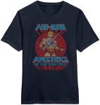 Masters of Universe T-Shirt - He-Man Sword Pose (navy)