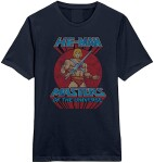 Masters of Universe T-Shirt - He-Man Sword Pose (navy) M