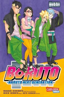 Boruto - Naruto the next Generation 11 Die actiongeladene Fortsetzung des Ninja-Manga Naruto (Kishimoto, Masashi; Kodachi, Ukyo; Ikemoto, Mikio)