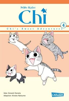 Süße Katze Chi: Chis Sweet Adventures 4  (Kanata, Konami; Natsume, Kinoko)