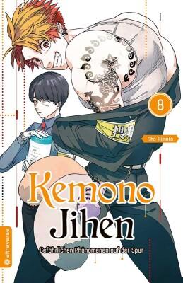 Kemono Jihen – Gefährlichen Phänomenen auf der Spur 08  (Aimoto, Sho)