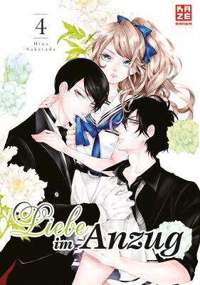 Liebe im Anzug – Band 4  (Sakurada, Hina)
