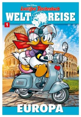 Lustiges Taschenbuch Weltreise 01 Europa (Disney)